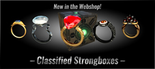 Classified Strongboxes in Webshop